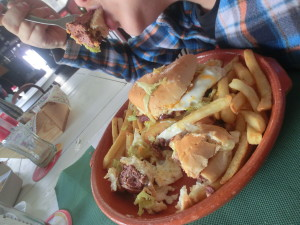Taberna Burguesa hambúrguer