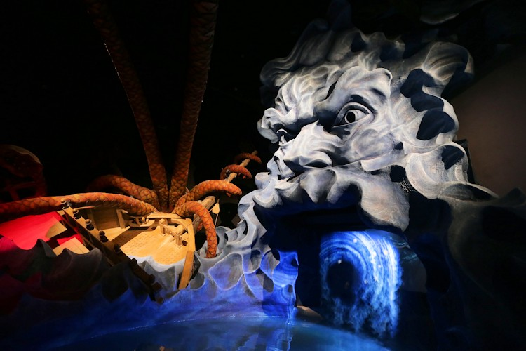 Visita ao World of Discoveries no Porto