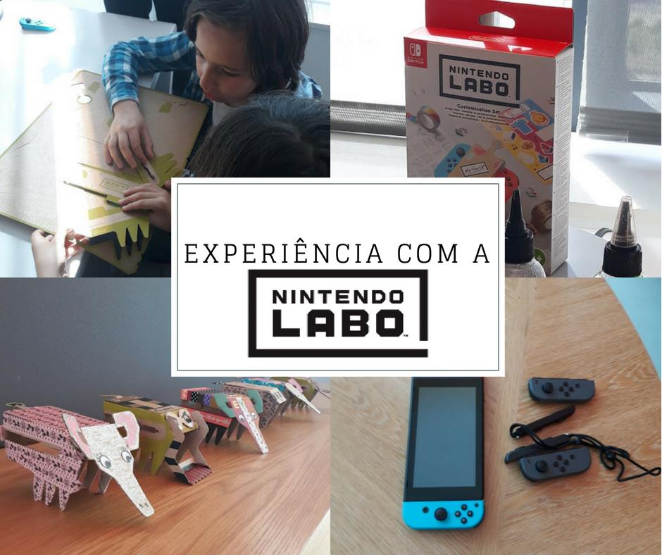 Nintendo Labo – Os kits de cartão da Nintendo Switch!