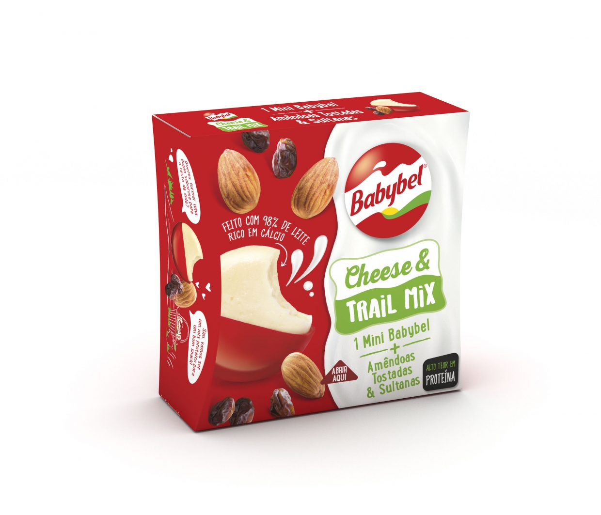 Babybel Cheese & Trail Mix, o novo snack proteico