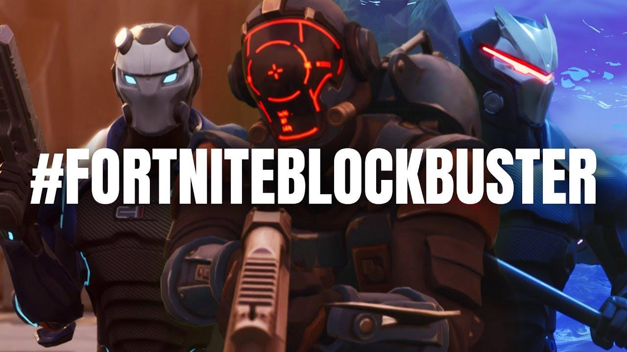Fortnite News – #FortniteBlockbuster