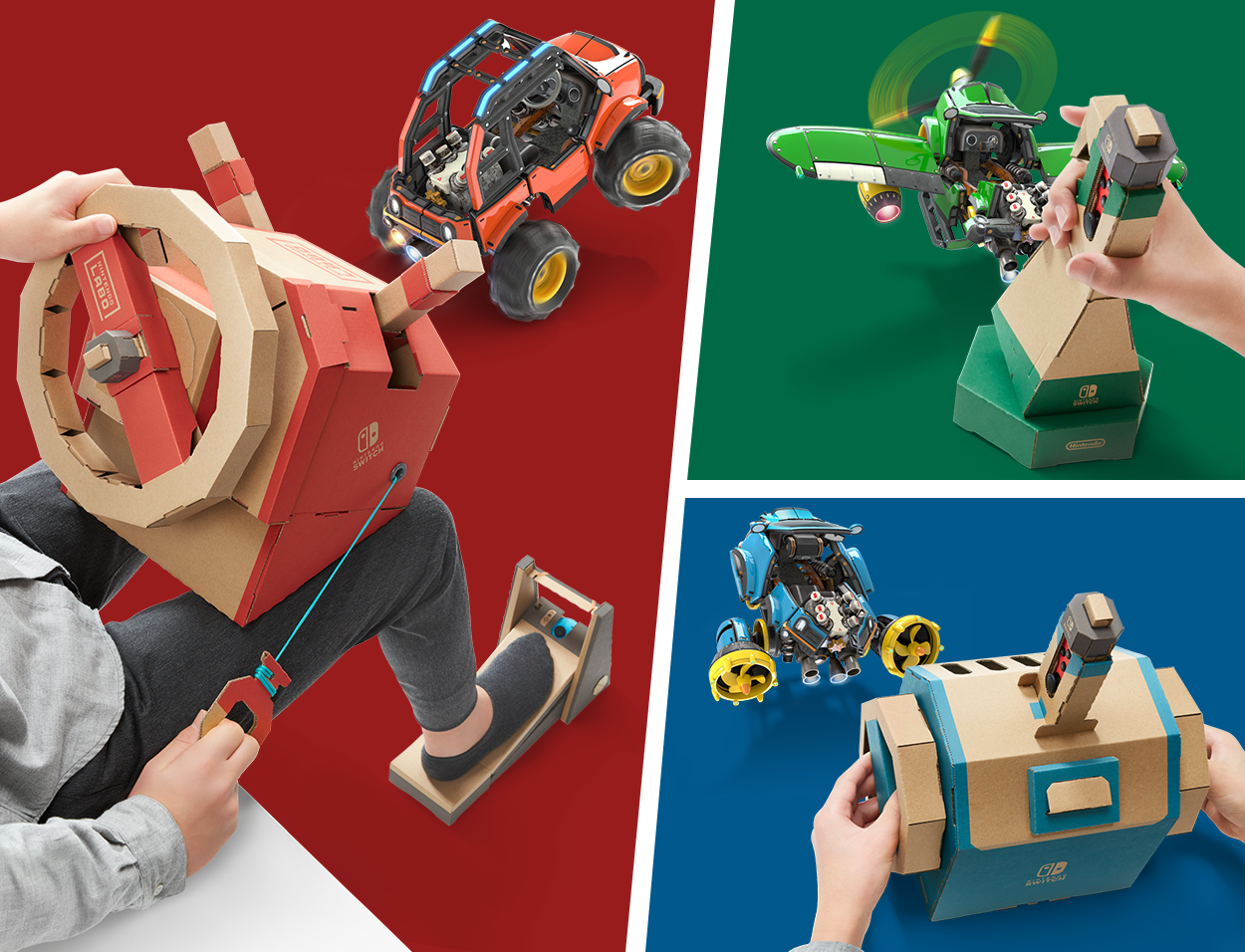 Novo kit da Nintendo Labo – Vehicle Kit