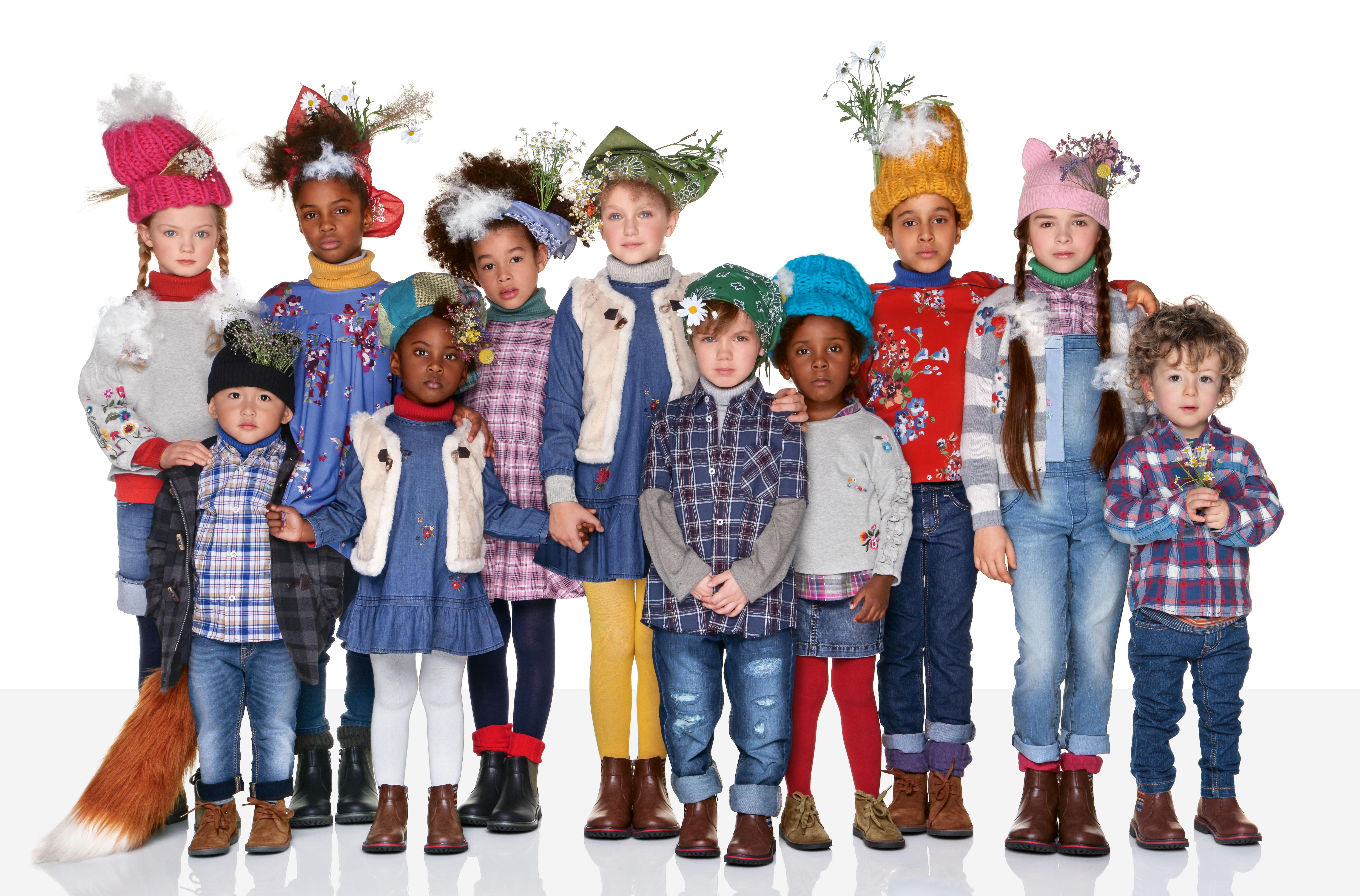 Benetton Kids: coleção Outono e Inverno 2018